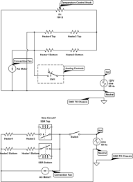 temperature connecting solid state relays to ac heating elements schematic at