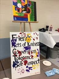 painting with a twist partnered with the nfl association to host a two hour event
