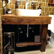 rustic half bathroom ideas. Small Rustic Bathroom Vanity Vanities  Best Inch Half Ideas
