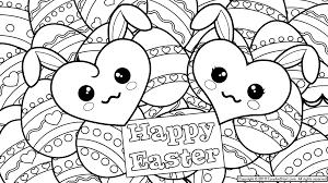Cute Easter Coloring Printoutsl L
