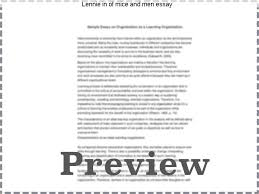 lennie in of mice and men essay coursework help lennie in of mice and men essay of mice and men essay guidelines •