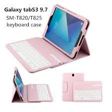 Galaxy 9.7 Inch Tab S3 T820 <b>Lychee</b> Split Bluetooth <b>Keyboard</b> ...