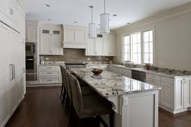 custom kitchen cabinets chicago.  Kitchen Custom Kitchen Cabinets Polar White Flat Panel Frameles Cabinets For Chicago S
