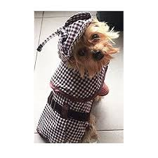 Sherlock Hound Costume For Smaller Dogs Brown Detective Outfit Size 6 Closeout