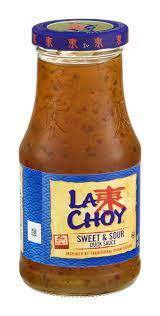 La Choy Sweet and Sour Stir Fry Sauce & Marinade, 10 oz Can - Walmart.com -  Walmart.com