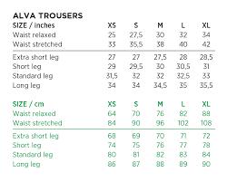 Galvin Green Size Chart Uk Galvin Green Ladies Alva Waterproof Trousers Black