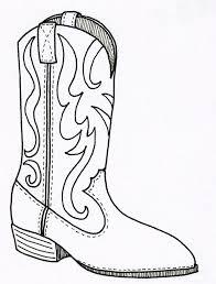 Cowboy Boots Coloring Pages Coloring Pages Pictures Imagixs