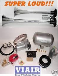 install of truck air horn viair system in chevy silverado truck dual trumpet truck air horn viair 150psi kit