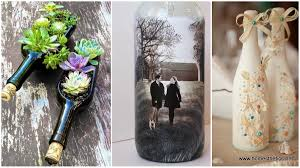 Liquor Bottle Decorations 100 Wine Bottle Crafts Ideas For The Collector In You 36