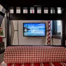 kids bedroom with tv. Bunk Bed View Of Kid\u0027s Country Room Kids Bedroom With Tv L
