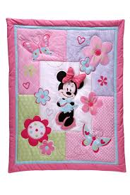 creative disney minnie mouse 4pc crib set no per minnie mouse crib bedding set