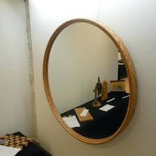 round mirror frame mirror frameless round mirror frame