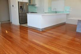 Bamboo Kitchen Flooring Kitchen Contemporary Kitchen Which Is Furnished With Wooden