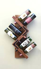 wine rack wall mount 6 bottle type z by ing s wood handmade wooden ideas image 6 of to enlarge unique handmade wine rack wood