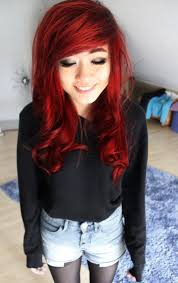 Her Hair Is So Pretty Bright