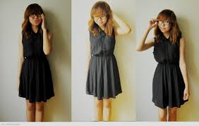 Casual Black Dress Outfits Pinterest