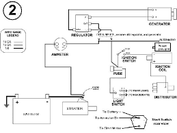 model a wiring diagram 6 volt alternator wiring diagram 6 volt generator