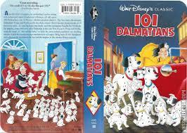 101 dalmatians vhs cover