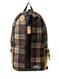 Supe Design Bag Supe Design Supe Design Bags Fw14 Maxi Zip Backpack