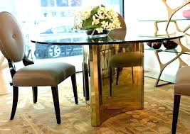 round dining room table and chairs. Round Metal Dining Table Set Room Abbot Interiors Argent Top And Chairs A