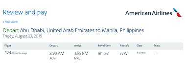 You Can Now Book Etihad And Jal Awards On The Aa Website