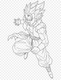 Dragon Ball Z Vegeta Super Saiyan Coloring Pages Printable