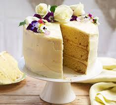 Lemon Elderflower Celebration Cake Recipe Bbc Good Food