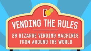 Vending Machine Life Hack Classy 48 Bizarre Vending Machines From Around The World
