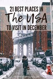 travel in december usa edition
