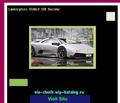 2018 lamborghini diablo price. brilliant price lamborghini diablo vin decoder  lookup number  161647 lamborghini search throughout 2018 lamborghini diablo price