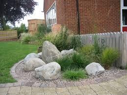 Brilliant Garden Rock Features Arnold Garden Design Garden Design Portfolio