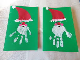Simple Reindeer Craft Made With One Triangular Piece Of Paper Christmas Card Craft Ideas