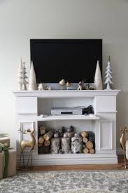 Build A Fake Fireplace Best 25 Fake Fireplace Ideas On Pinterest Faux Fireplace Fake