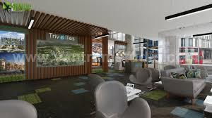 Interior Designer Studio City Artstation Innovative 3d Office Interior Design By Yantram