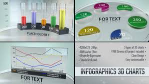 Infographics 3d Charts