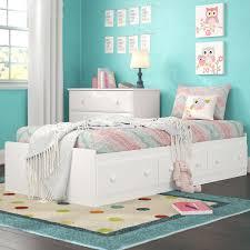 Twin Xl Captains Bed | Wayfair