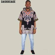 Dashikiage Yellow Mens <b>Hipster Hip</b> Hop <b>African</b> Dashiki Fabric ...