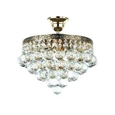 chandeliers crystal gala light semi flush chandelier french empire ceiling