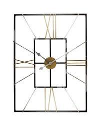 hometime large wall clock rectangular