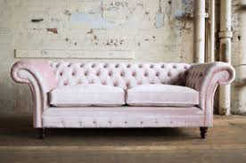 Pink velvet couch Blush Pink Details About Modern Handmade Seater Cushion Seat Plush Dusty Pink Velvet Chesterfield Sofa Ebay Modern Handmade Seater Cushion Seat Plush Dusty Pink Velvet