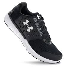 under armour running shoes black and white. under armour micro g motion men\u0027s running shoes black and white r