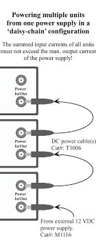accessories kation scientific daisy chain configuration