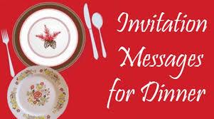 Invitation Wording For Dinner Invitation Messages For Dinner Dinner Party Invitation Wording