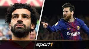 Lionel Messi lockt Mohamed Salah nach Barcelona | SPORT1 - TRANSFERMARKT -  YouTube