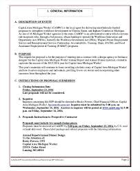 Example For Request Proposal Template Simple Rfp Word Strand And ...