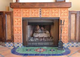 art nouveau fireplace tiles for antique dublin tile ideas modern