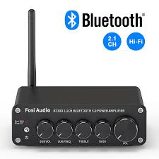 BT30D <b>Bluetooth 5.0</b> 2.1 Channel Power Amplifier with Bass and ...