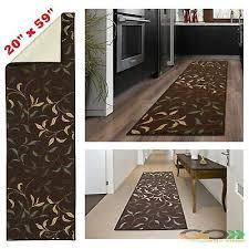 carpet runner rug oriental hall area rugs modern long floor rubber mat kilim