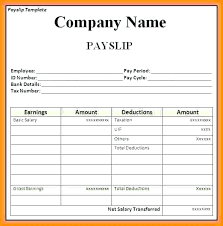 Employee Salary Slip Sample Stunning Wage Slip Download Template Free Salary South Africa Preinstaco