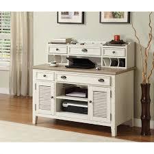 riverside furniture coventry two tone credenza hutch in dover white